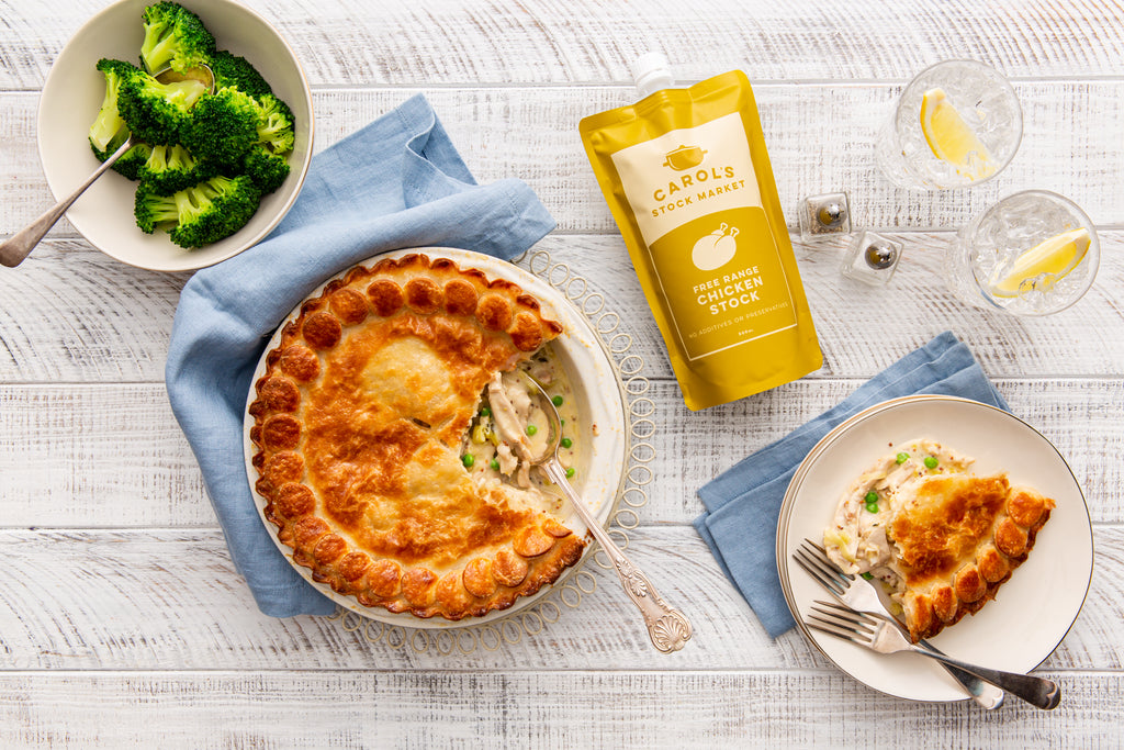 Chicken & Leek Pie Recipe
