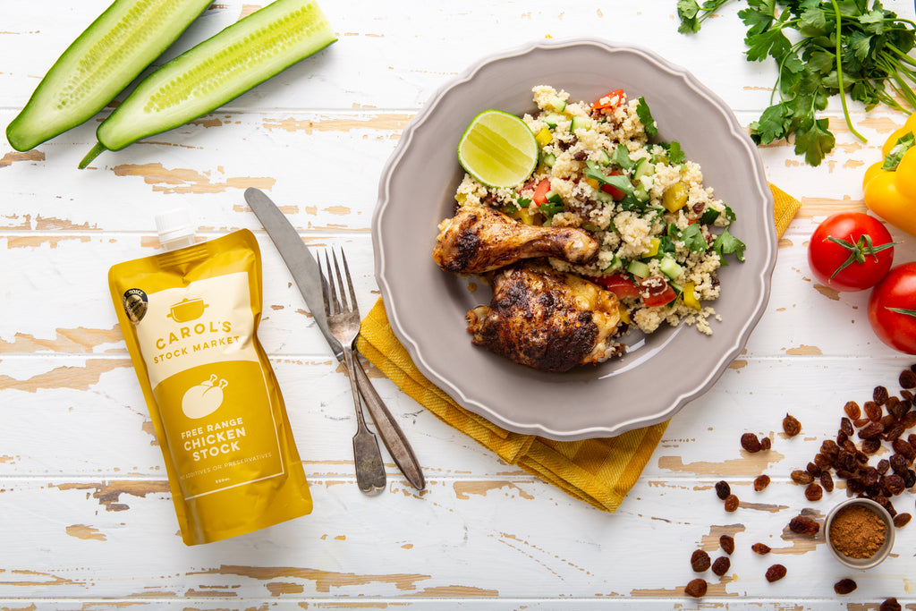 Jerk Chicken with Couscous