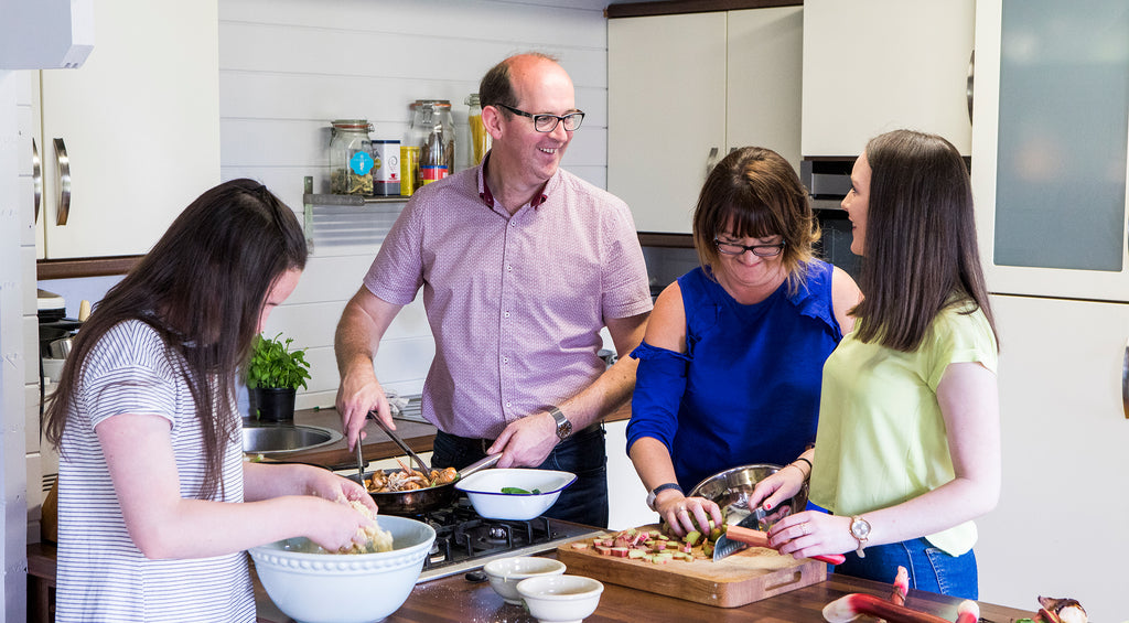 Chef Brian McDermott Cookery Masterclass Competition