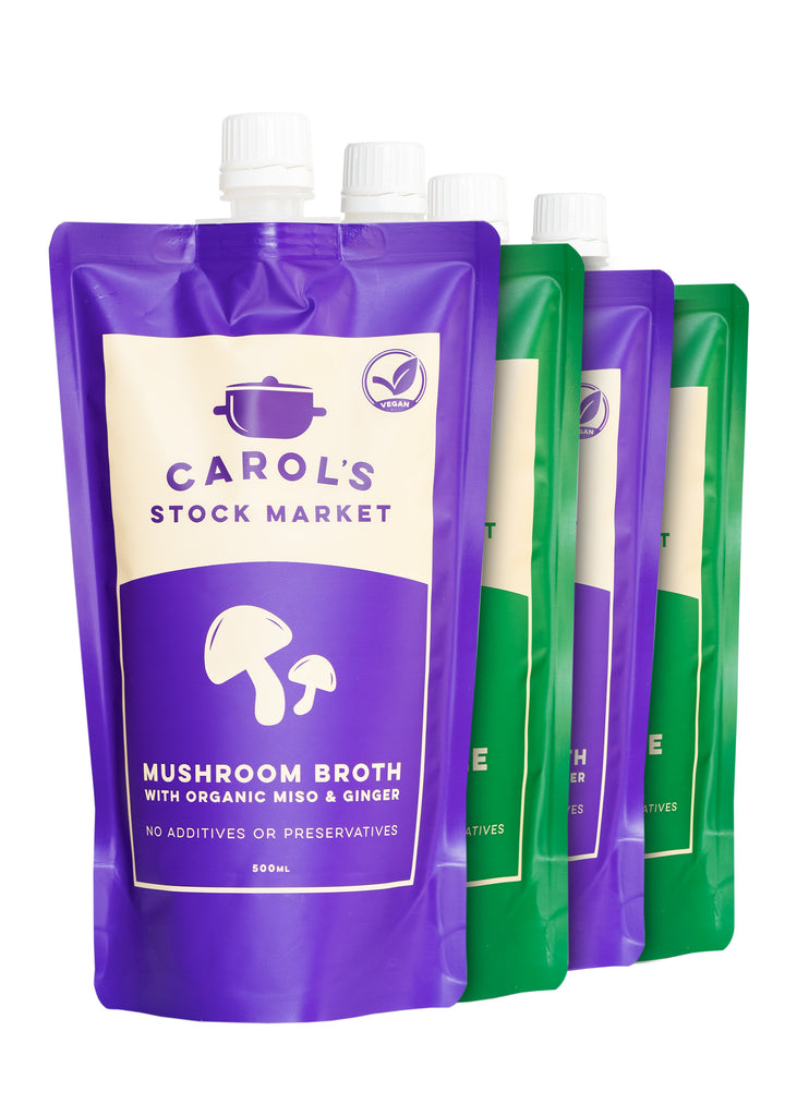 Mixed Vegetarian Multipack (4 Pack) - Carol's Stock Market
