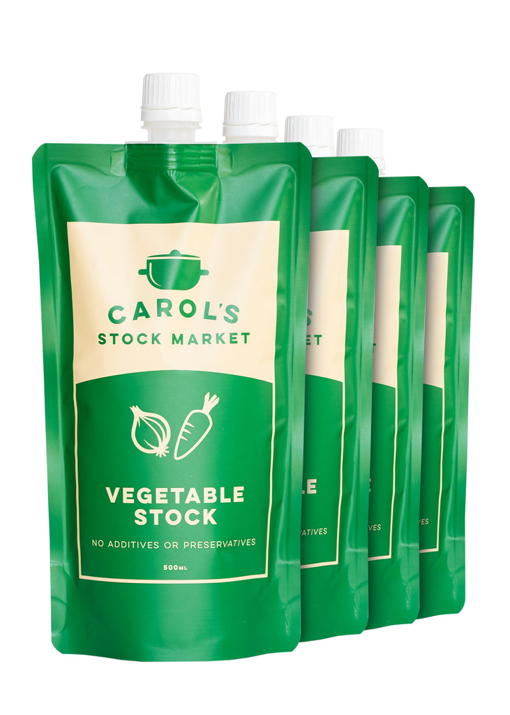 Vegetable Stock 4 Pack - Carol's Stock Market