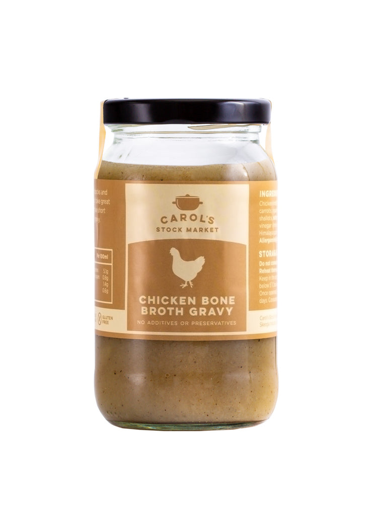 Chicken Bone Broth Gravy