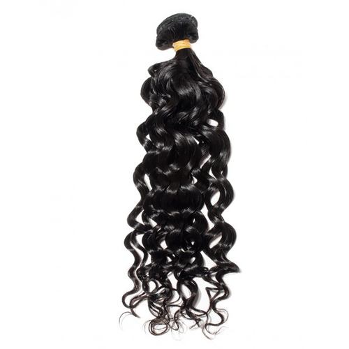 Natural Wave Single Bundle Natural Black - molength