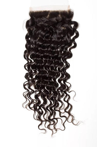 Deep Wave 5x5 Closure Natural Black - molength