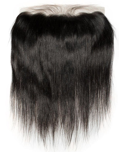 Straight 13x4 Frontal Natural Black