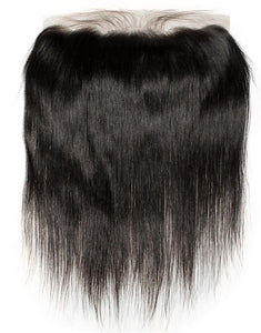 Straight 13x4 Frontal Natural Black - molength