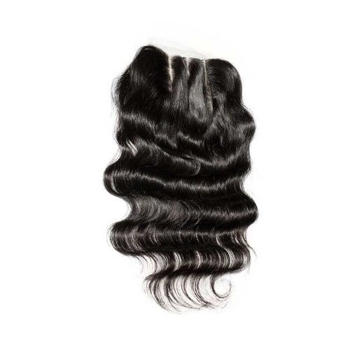 Body wave 5x5 Closures Natural Black