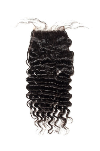 Deep Wave 4x4 Closure Natural Black