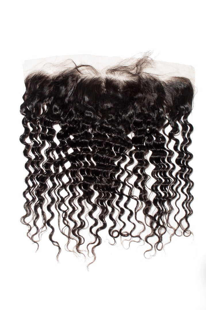 Deep Wave 13x4 Frontal Natural Black