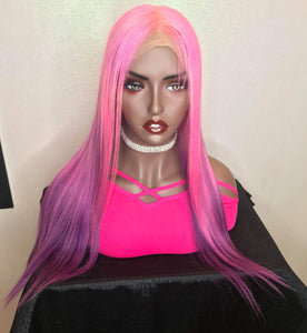 "Barbie Drip 💕 18"" Full Lace Wig Custom Color"
