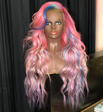 "Load image into Gallery viewer, My Little Pony 💜💗💙 24"" Full Lace Wig Custom Color"