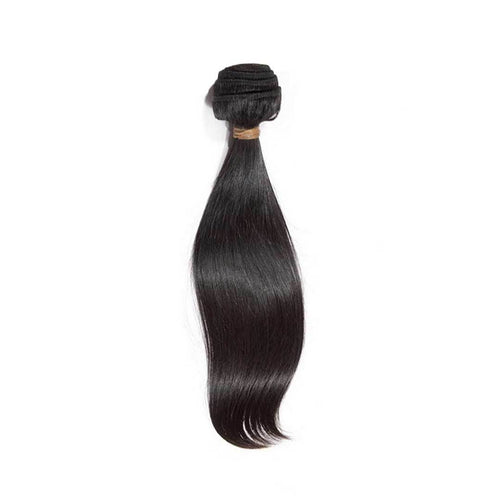 Straight Single Bundle Natural Black