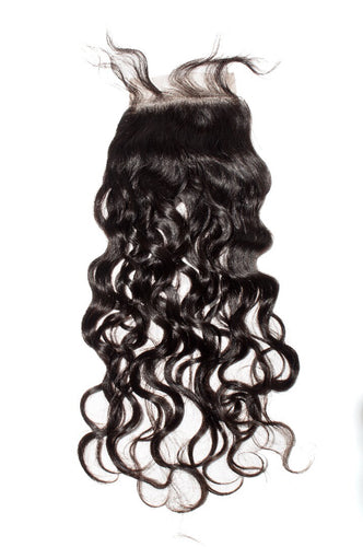 Natural Wave 4x4 Closure Natural Black - molength