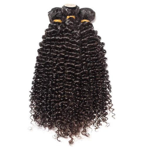 Kinky Curly 3 Bundle Deal Natural Black