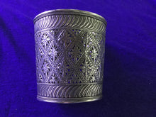 Load image into Gallery viewer, Large Engraved Solid Silver Cuff from Morocco