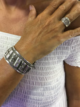 Load image into Gallery viewer, Beautiful Silver Bracelet with Moroccan Handiwork