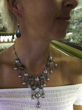 Load image into Gallery viewer, Fancy Moroccan Silver Necklace