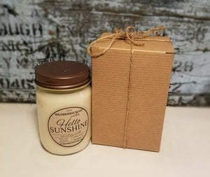 Hello Sunshine 12 oz. Natural Soy Candle