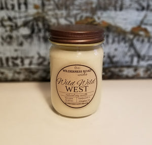 Wild Wild West 12 oz. Natural Soy Candle