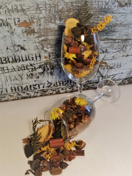 Egyptian Amber Handcrafted Potpourri