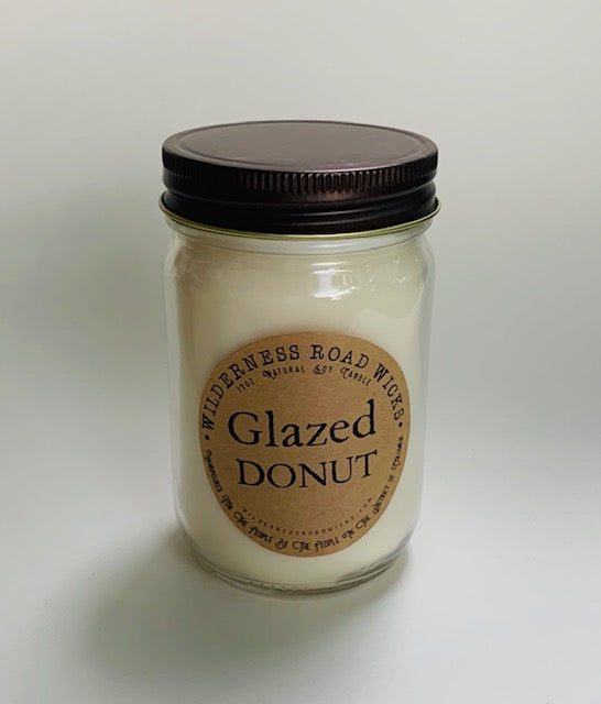 Glazed Donut Natural Soy Candle