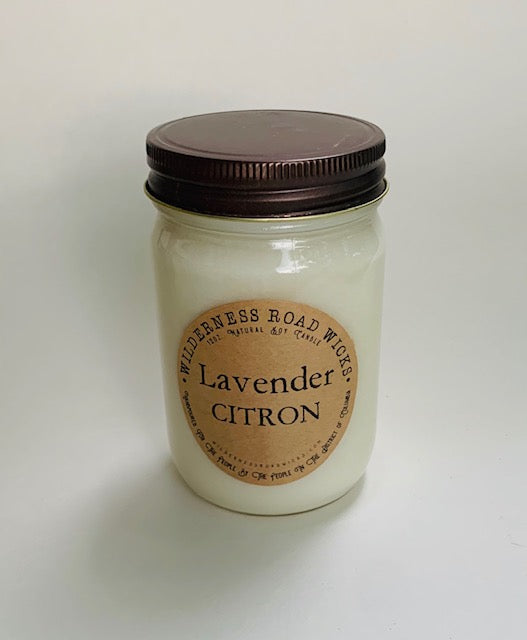 Lavender Citron 12 oz. Natural Soy Candle
