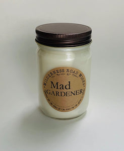 Mad Gardener Soy Candle