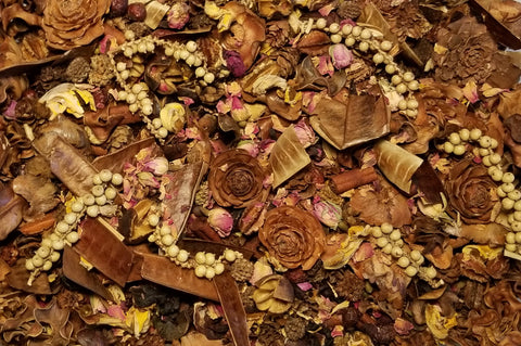 Patchouli Rose Handcrafted Potpourri