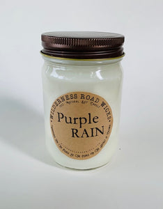 Purple Rain Soy Candle
