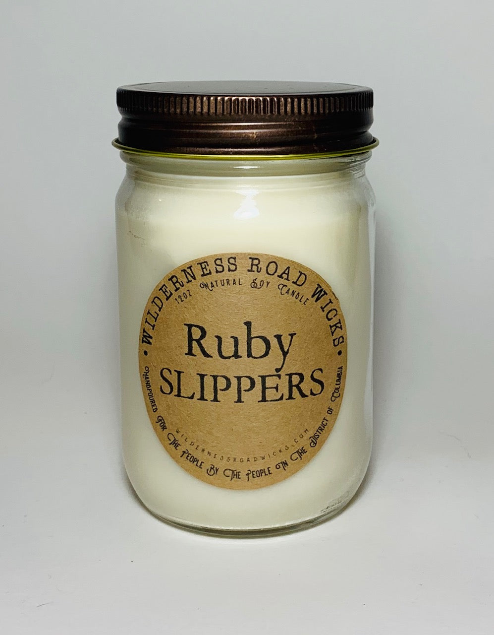 Ruby Slippers 12 oz. Soy Candle