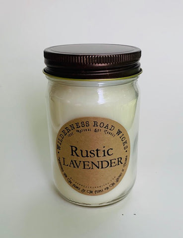 Rustic Lavender Soy Candle