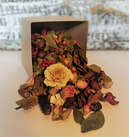 Vintage Rose Handcrafted Potpourri