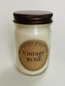 Vintage Rose Soy Candle