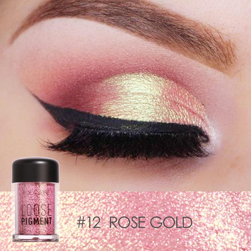 FOCALLURE - Rose Gold Loose Pigment
