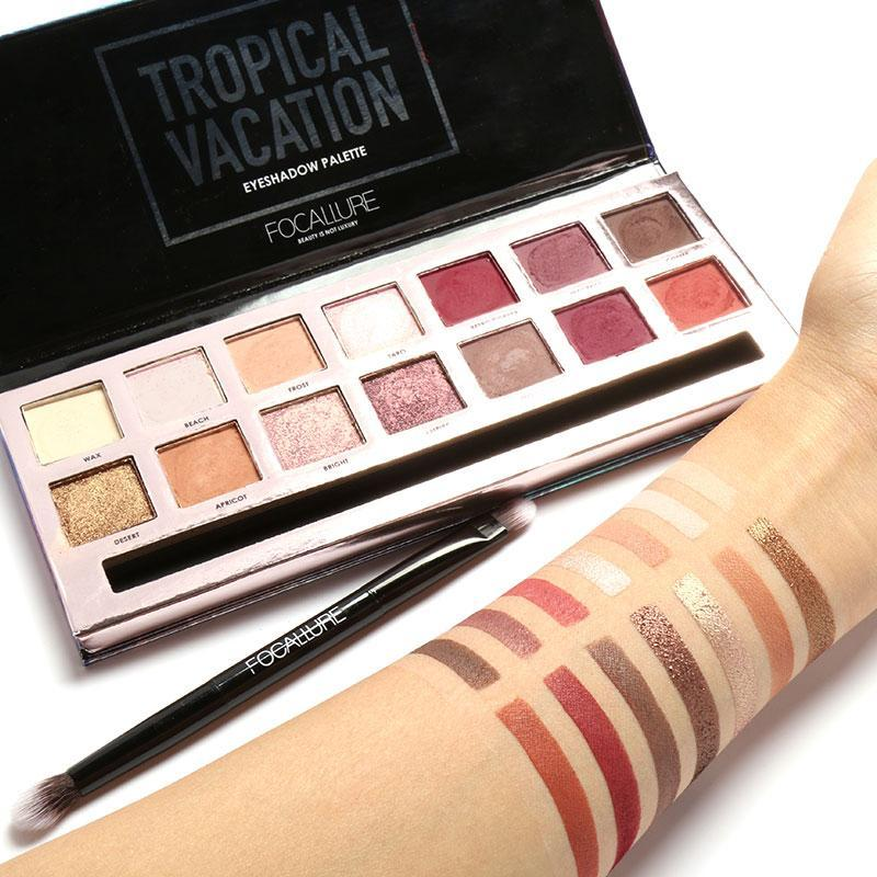 FOCALLURE - Tropical Vacation Eyeshadow Palette