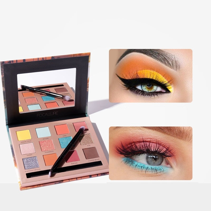 FOCALLURE - So Hot Eyeshadow Palette