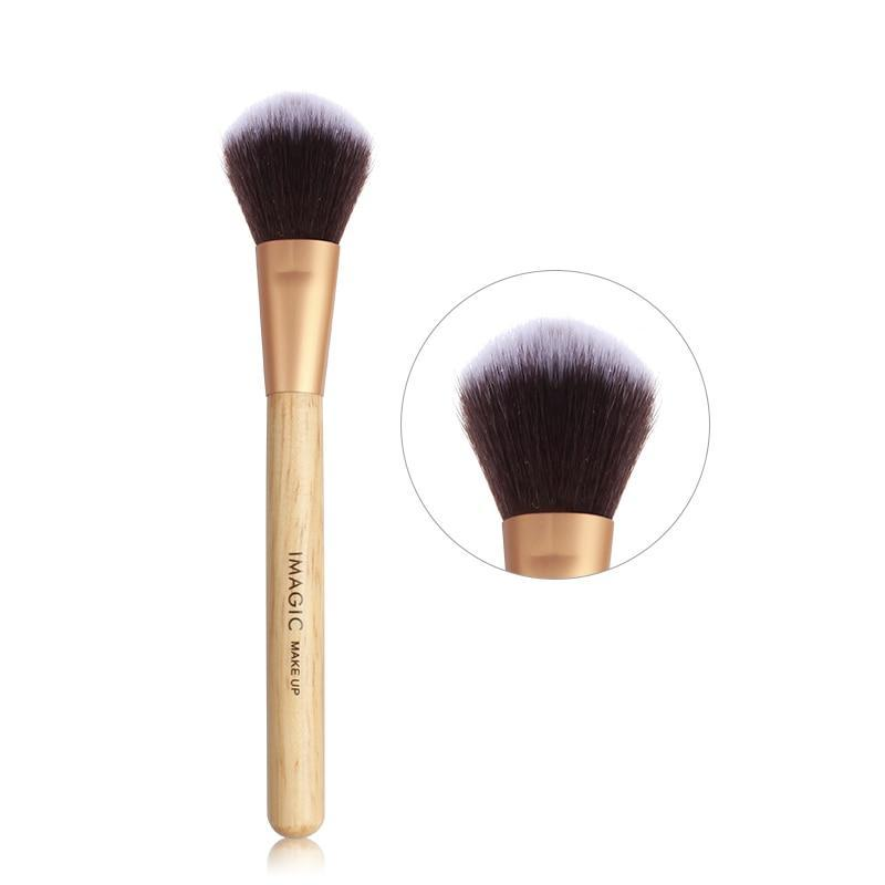 IMAGIC - Wooden 5 pcs Makeup Brushes Set