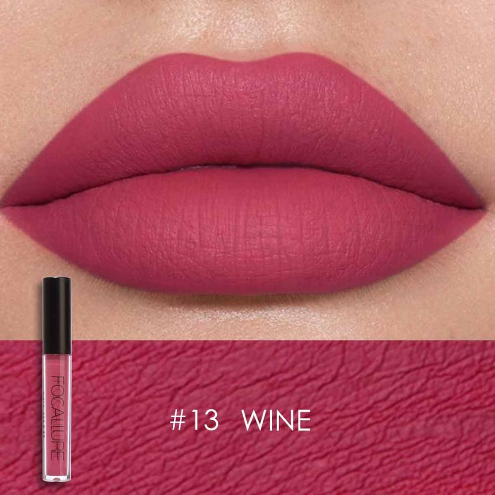 FOCALLURE - Wine Matte Liquid Lipstick