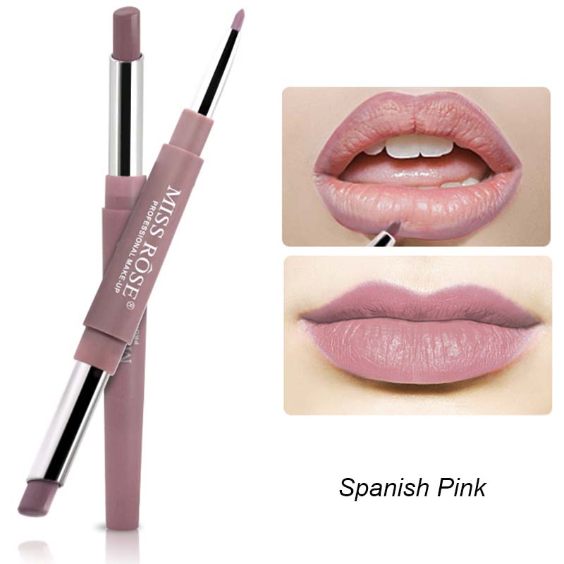 MISS ROSE - Spanish Pink Duo Lipstick
