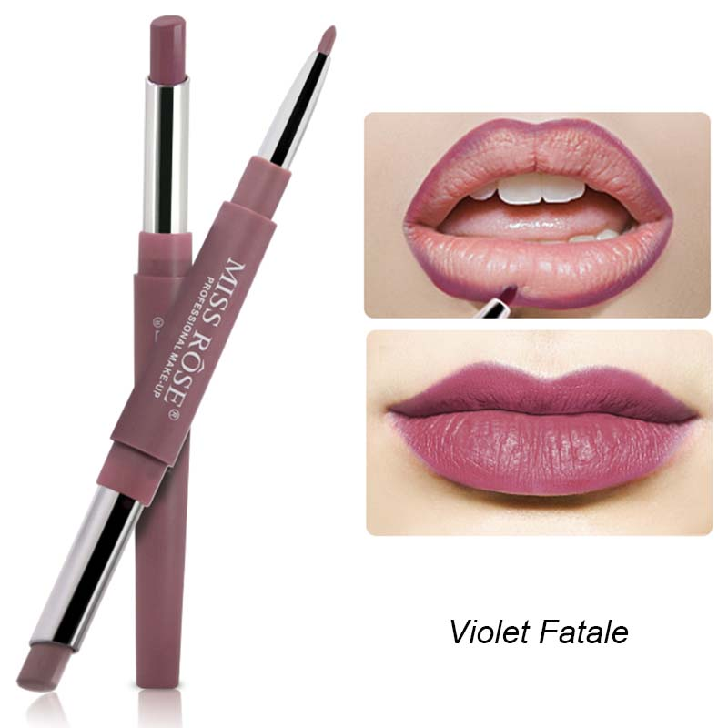 MISS ROSE - Violet Fatale Duo Lipstick