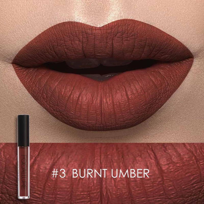 FOCALLURE - Burnt Umber Matte Liquid Lipstick
