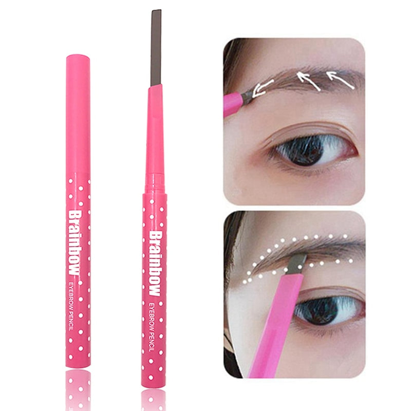 BRAINBOW - Eyebrow Pencil + Brow Shape Stencils