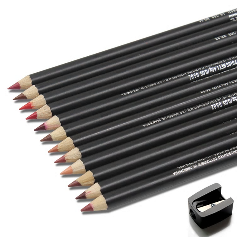 IMAGIC - 12 Lip Liner Pencil Kit