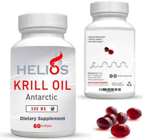 best antarctic krill oil supplement amazon