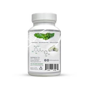 Green Coffee Bean Extract | Formulated with 50% GCA Maximum Potency | 60 Veggie Capsules | Helios Supplements - Helios Supplements