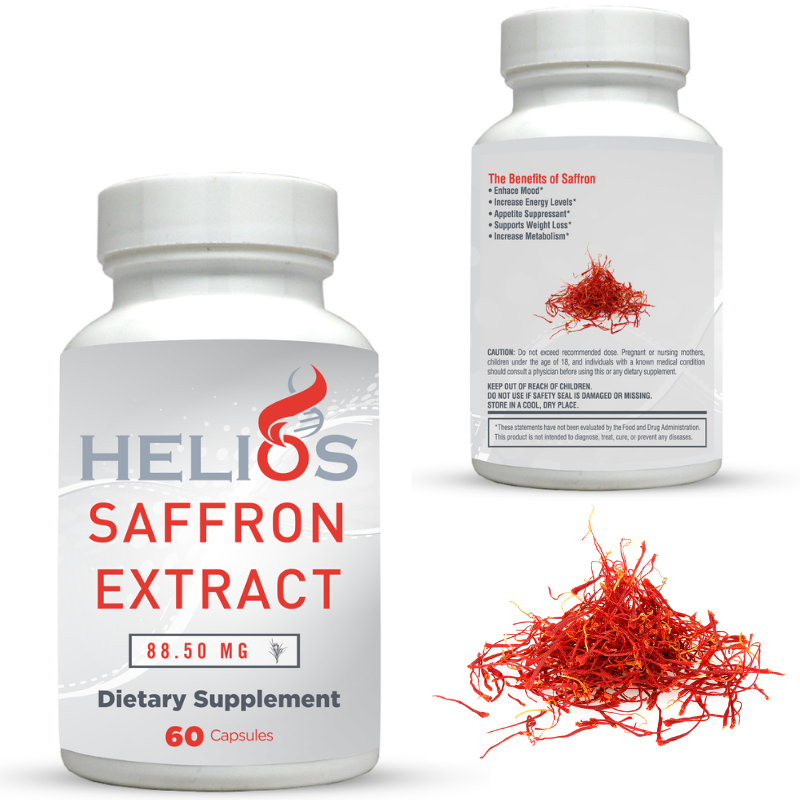 Saffron Supplement  saffron extract appetite suppressant  Saffron Capsules
