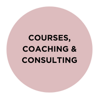 courses, coaching and consulting