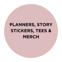 planners and merchandise