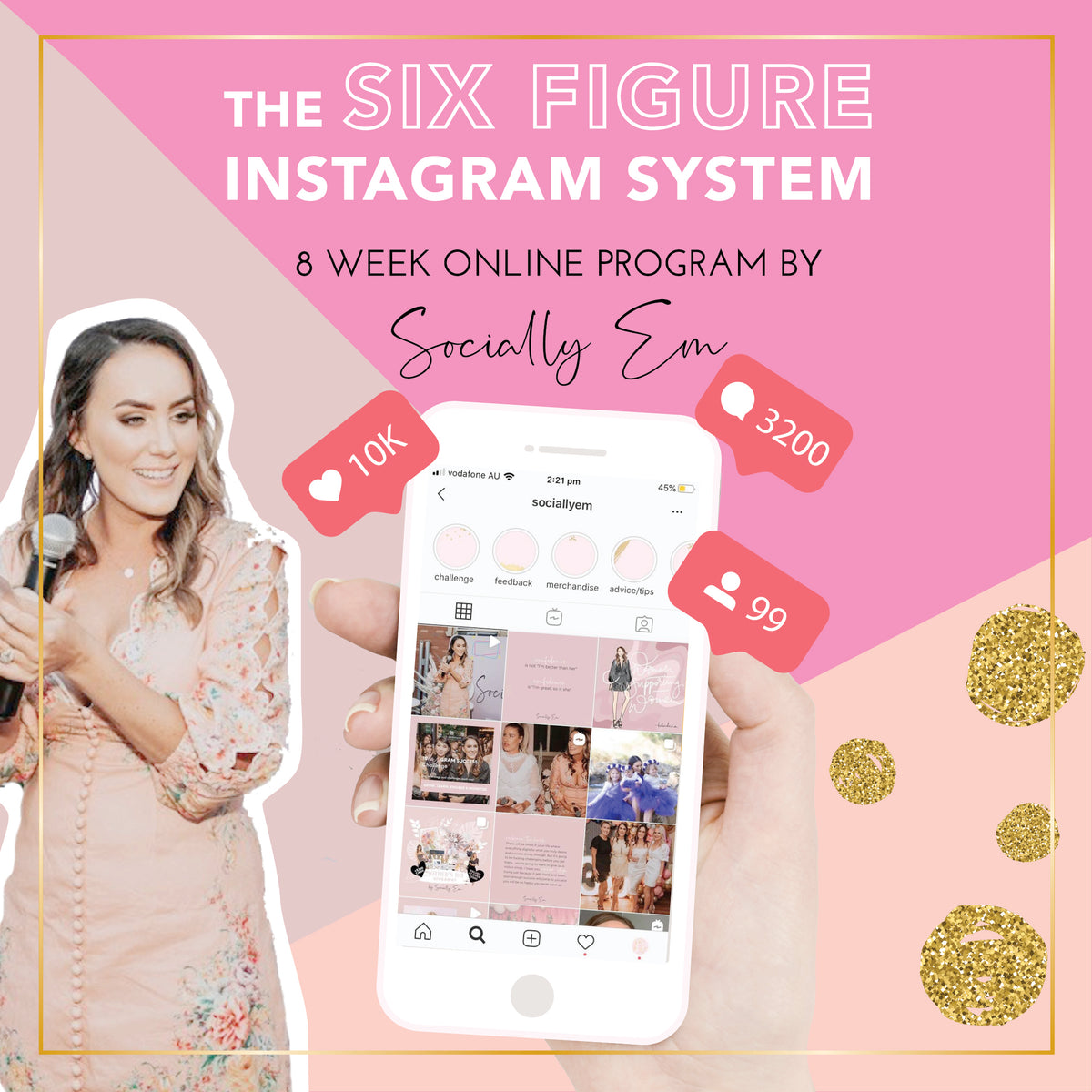 The Six Figure Instagram System Course