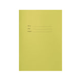 A4 Coloured Exercise Books, Lined with Margin, 80 pages (Pack of 10)